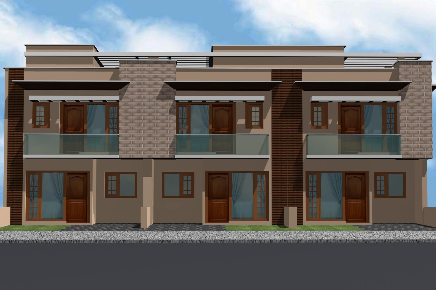 Kothi punjab elevaion joy studio design gallery best for Latest kothi design
